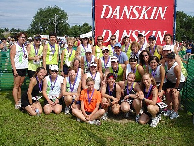 Danskin Triathlon Training Team - Team Danskin Training