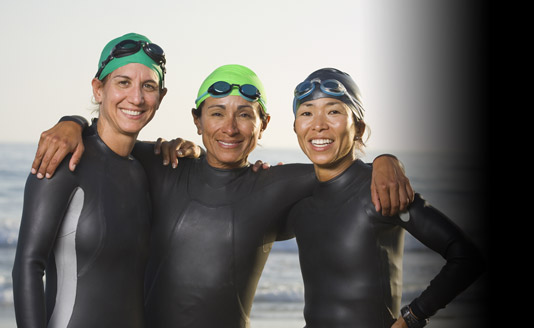 Home Page Rotator - Three Swimmers