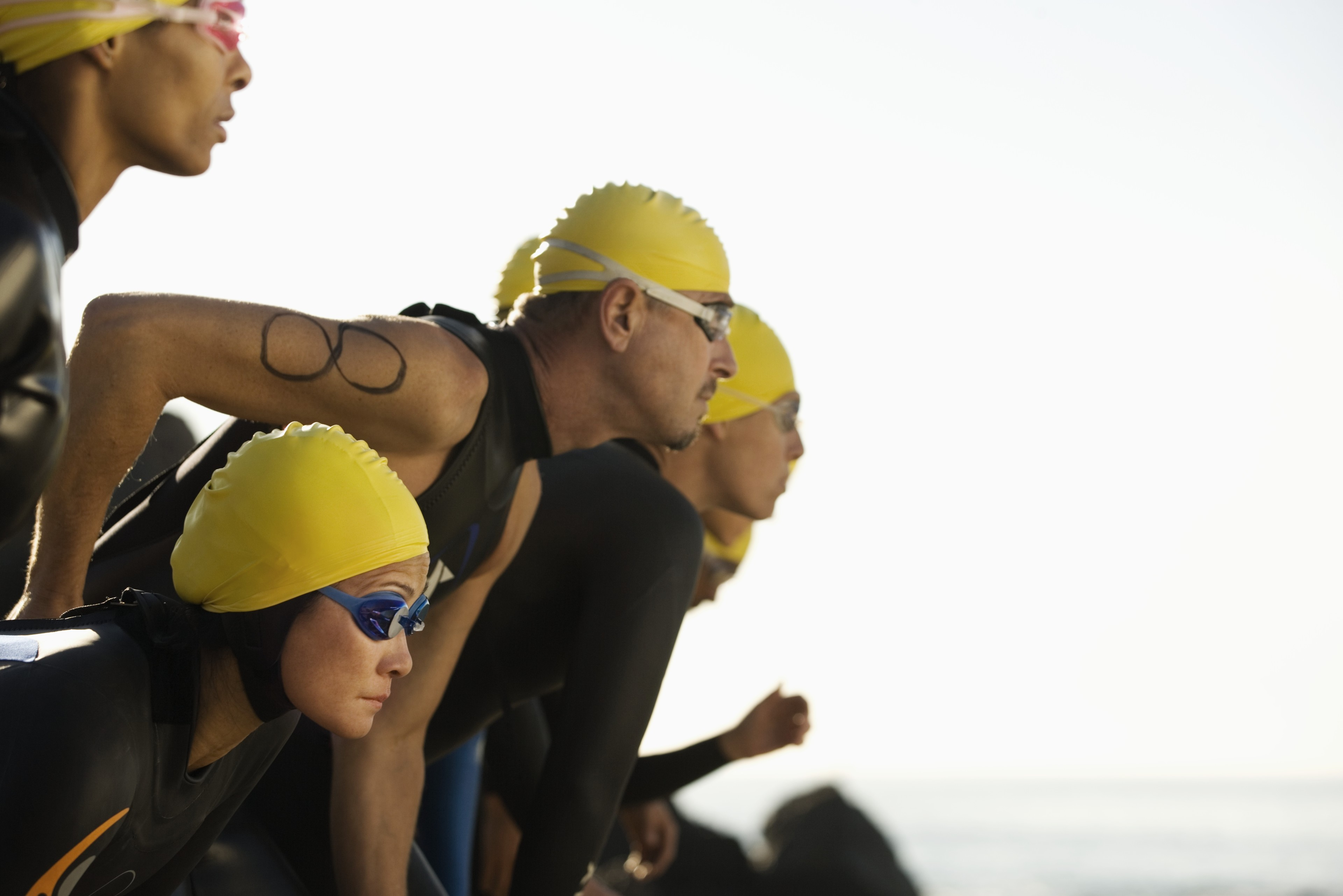 Swim Start Men and Women - Triathlon Coaching